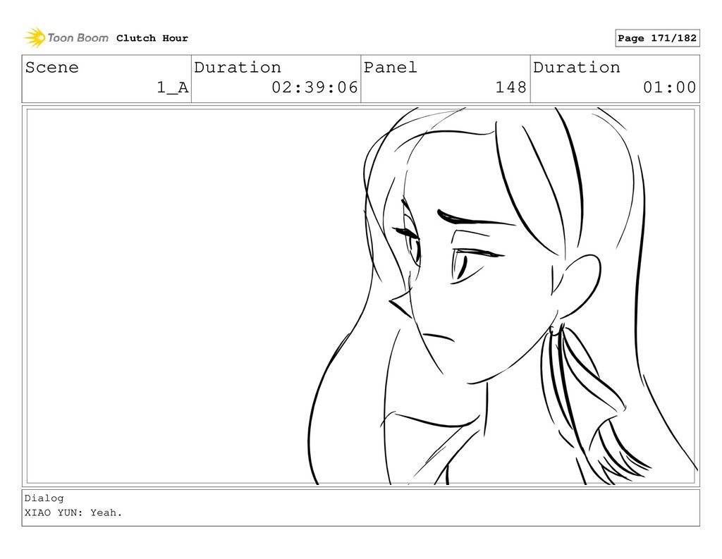 Scene 1_A Duration 02:39:06 Panel 148 Duration ...