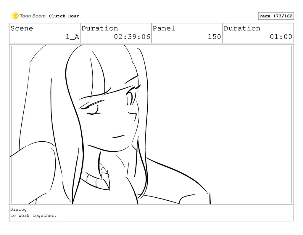 Scene 1_A Duration 02:39:06 Panel 150 Duration ...