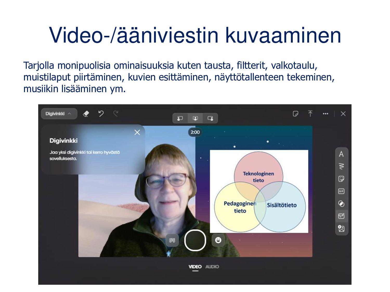 Flipgridiä voi käyttää itsenäisesti tai osana O...