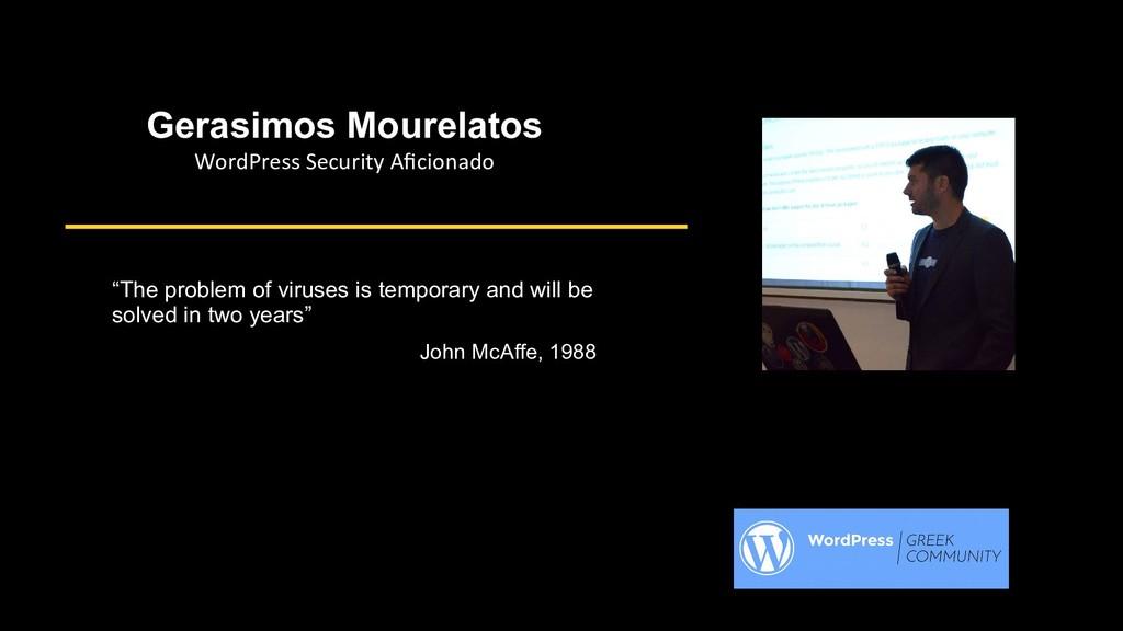 Gerasimos Mourelatos WordPress Security Afciooa...