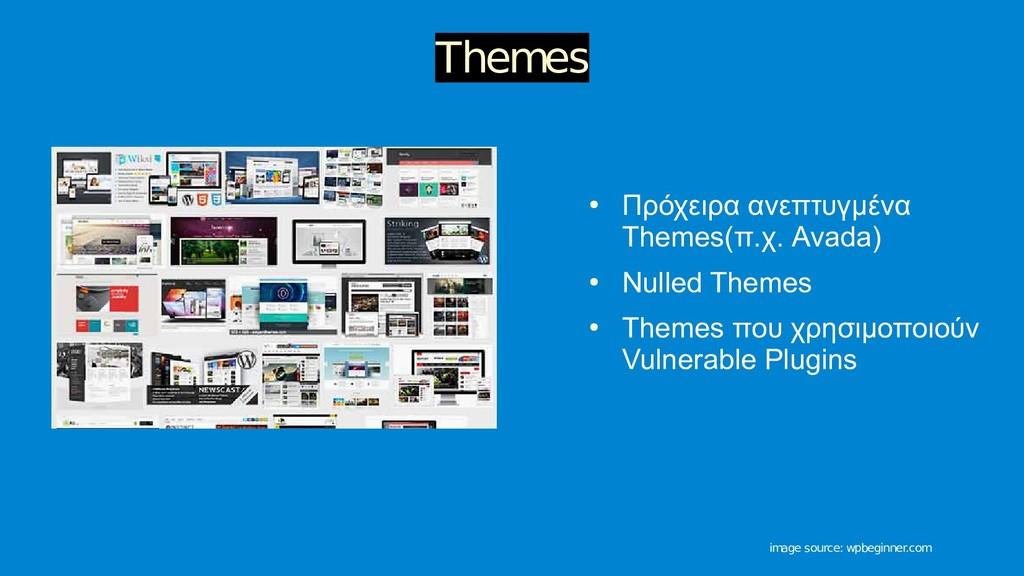 ● Πρόχειρα ανεπτυγμένα Themes(π.χ. Avada) ● Nul...