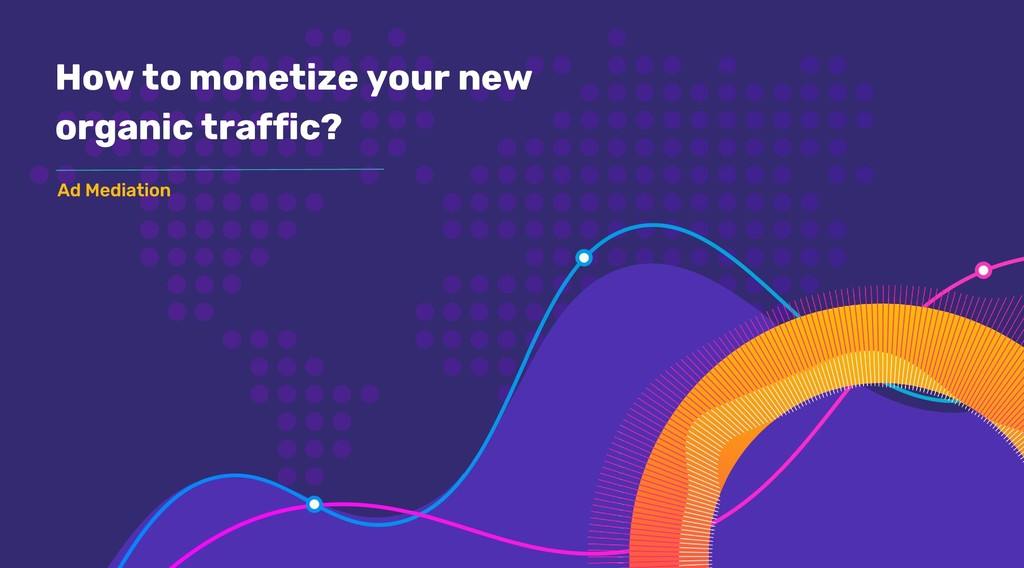 How to monetize your new organic traffic?