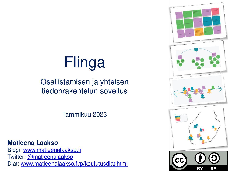 Flinga Osallistamisen ja yhteisen tiedonrakente...