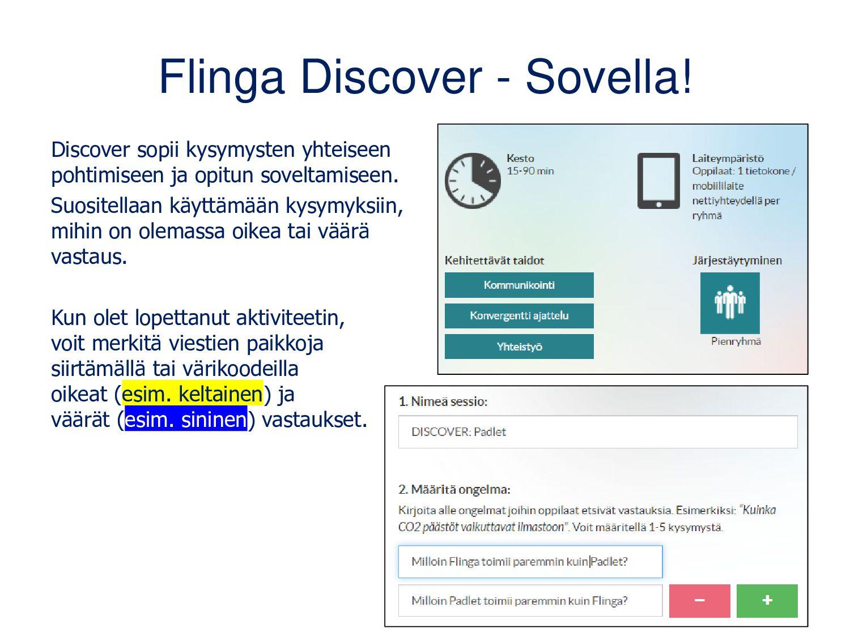 Flinga Explore - Innovoi! • Sopii avoimille kys...