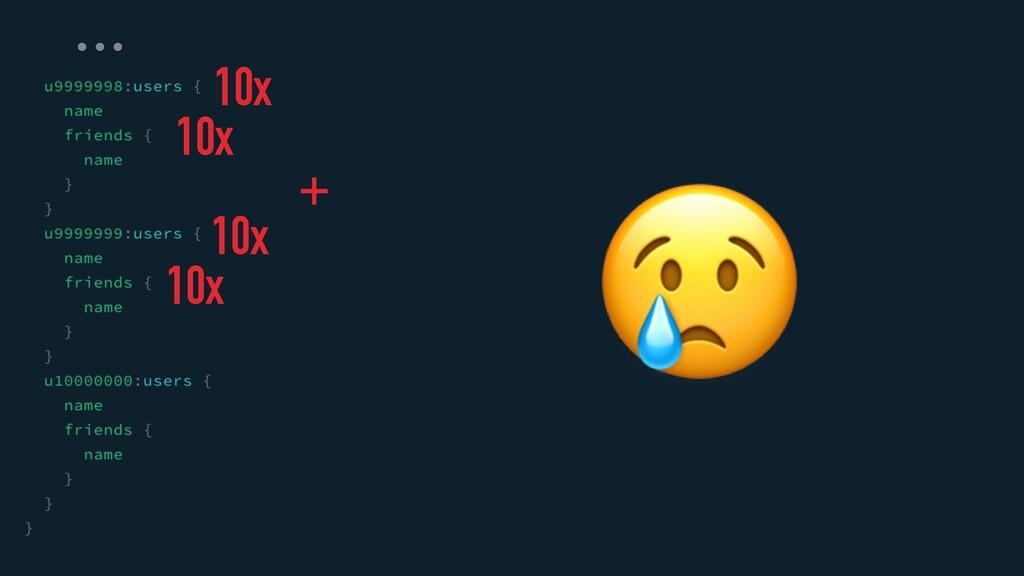😢 … 10x 10x + 10x 10x