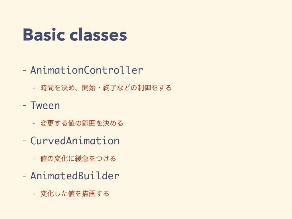 Basic classes - AnimationController - ؒΛܾΊɺ։ɾ...