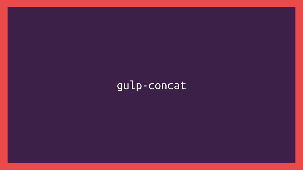 gulp-concat