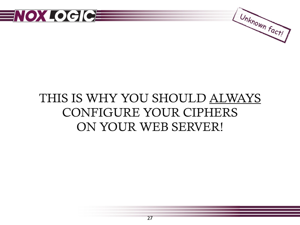 THIS IS WHY YOU SHOULD ALWAYS CONFIGURE YOUR CI...