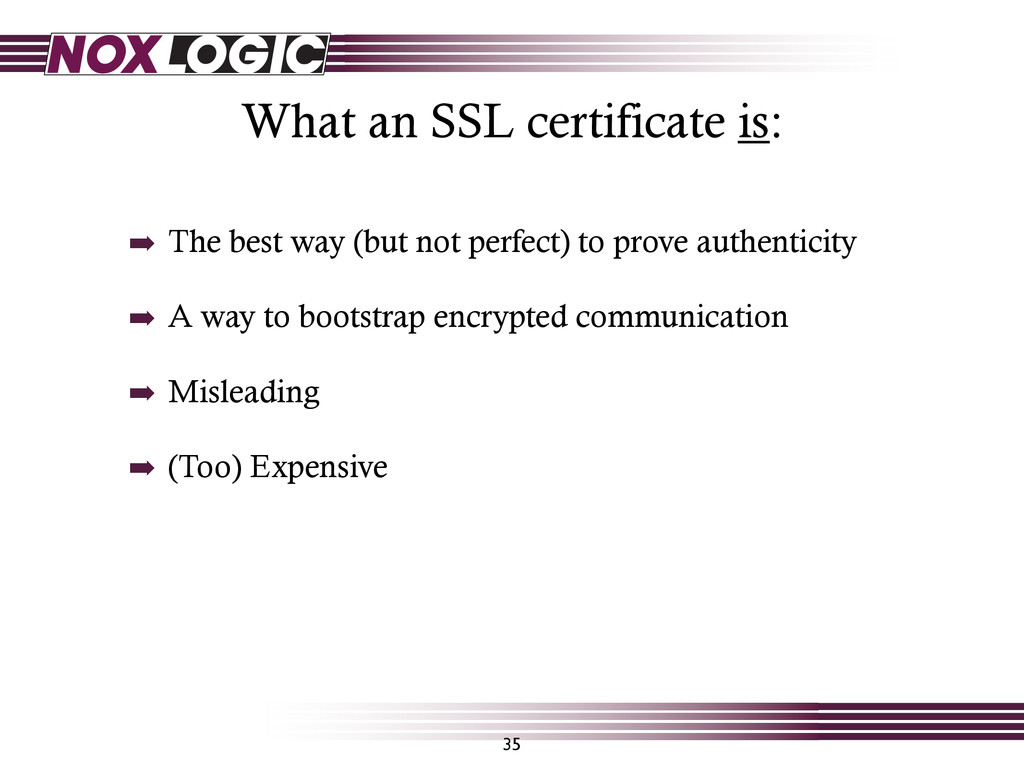 What an SSL certificate is: 35 ➡ The best way (...