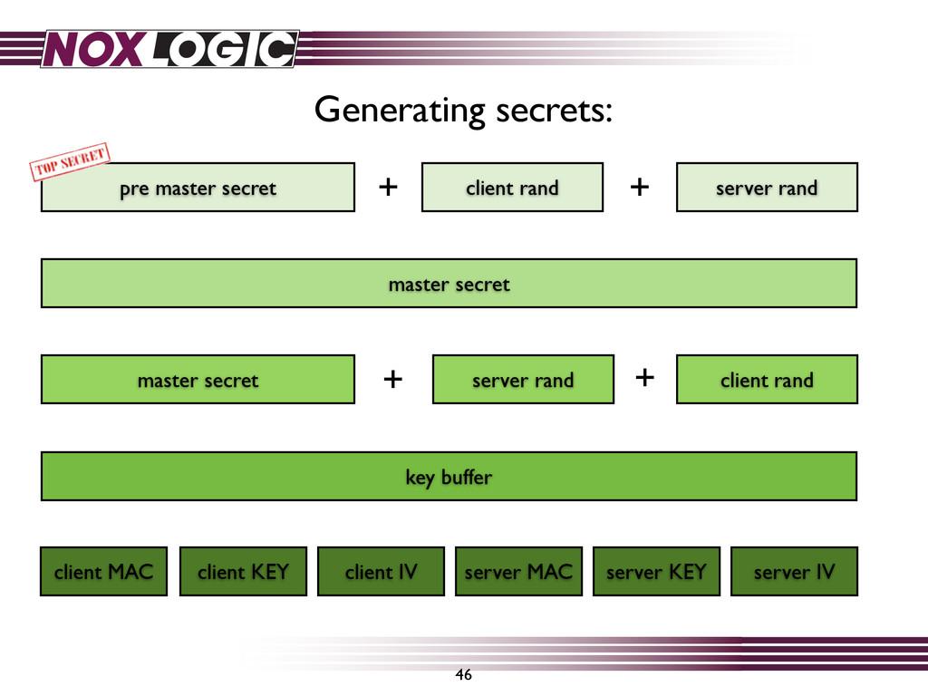46 pre master secret server rand client rand ma...