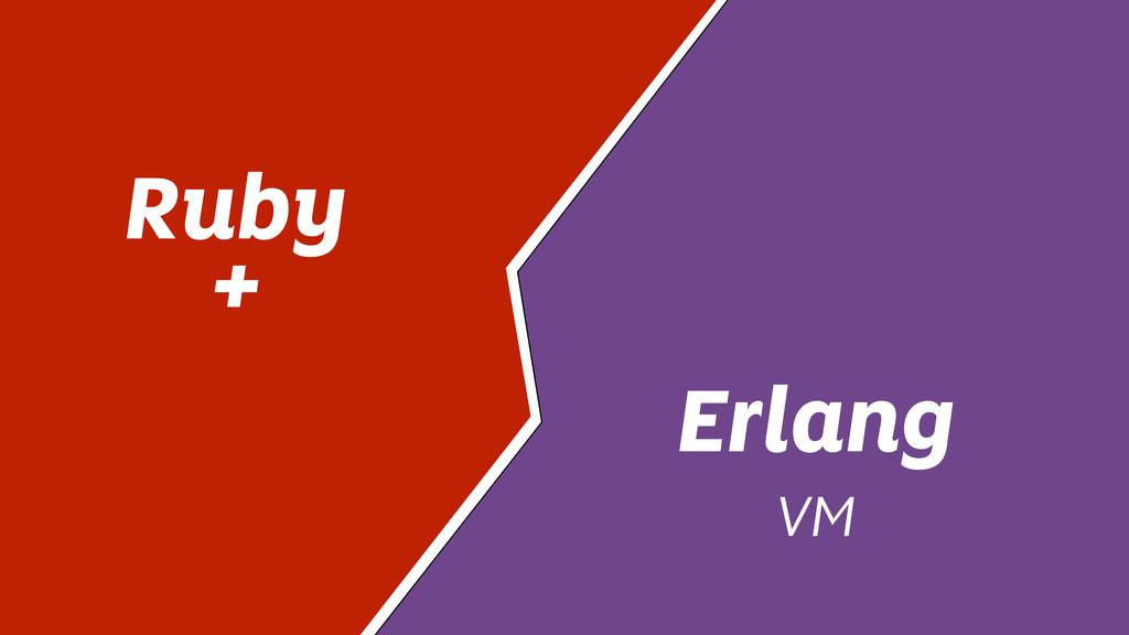 Ruby + Erlang VM