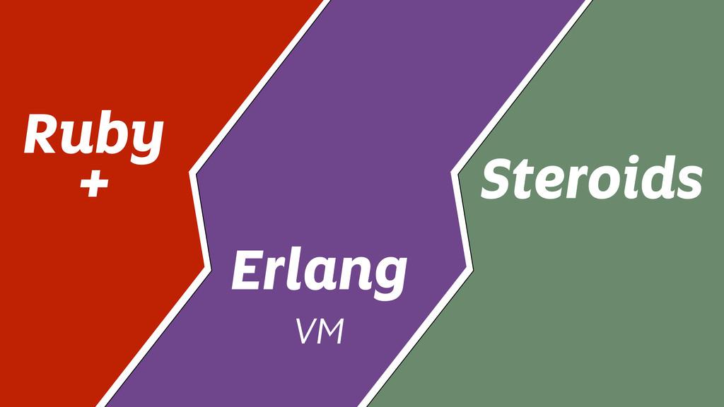 Ruby + Erlang VM Steroids