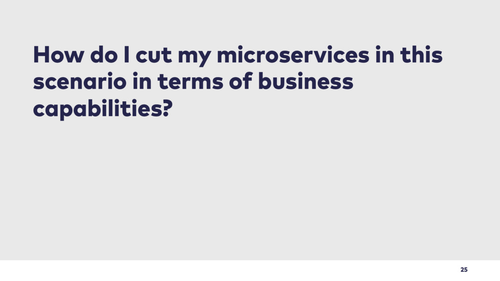 25 How do I cut my microservices in this scenar...