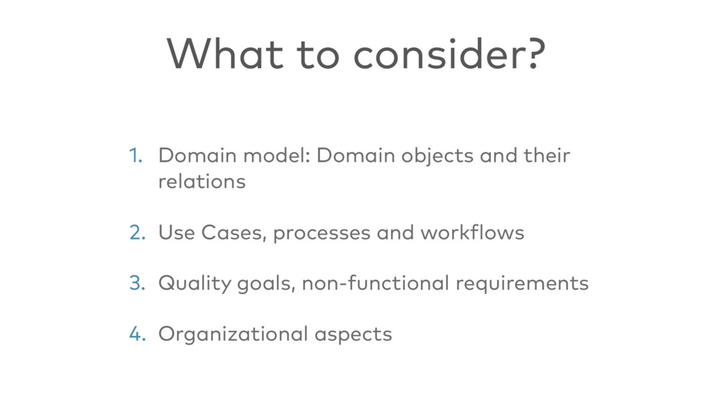 1. Domain model: Domain objects and their relat...