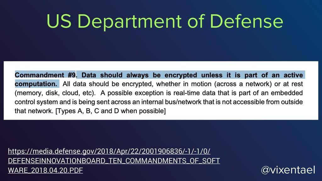 @vixentael US Department of Defense https://med...