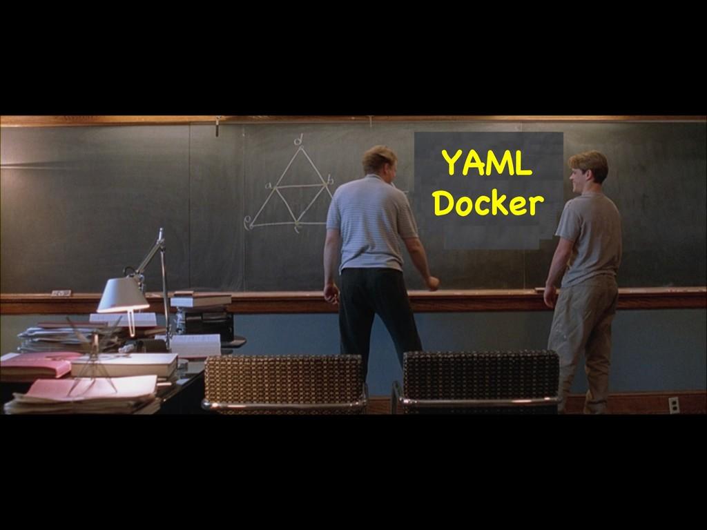 YAML  Docker