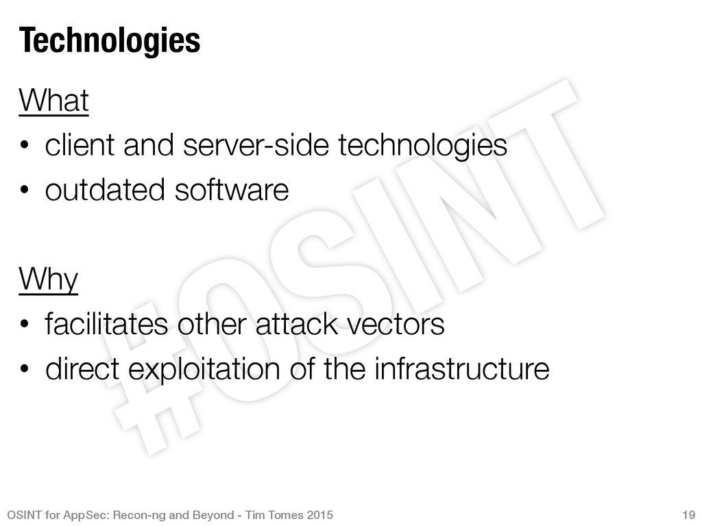 Technologies What • client and server-side t...
