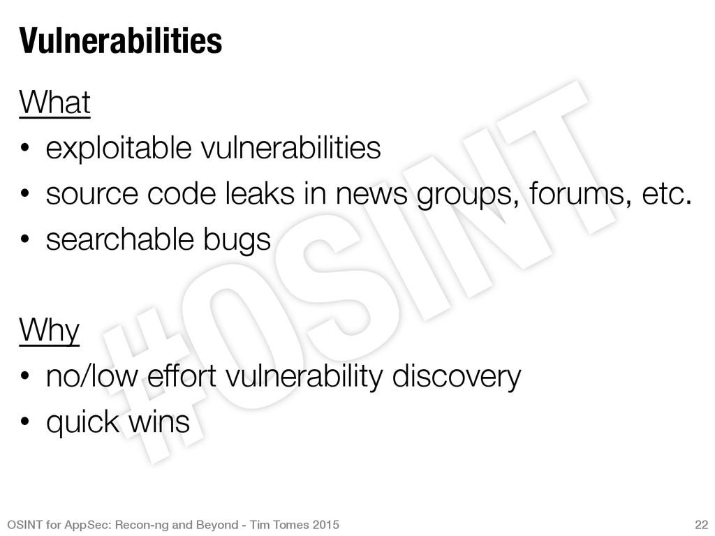 Vulnerabilities What • exploitable vulnerabi...