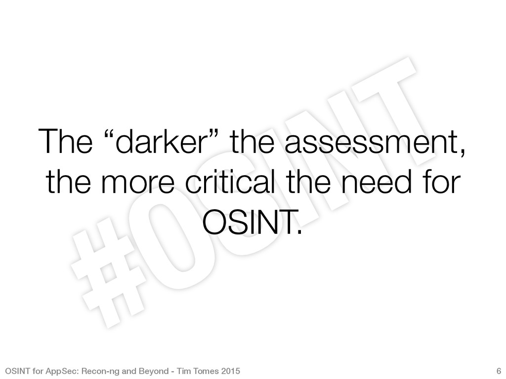 """The """"darker"""" the assessment, the more critical ..."""