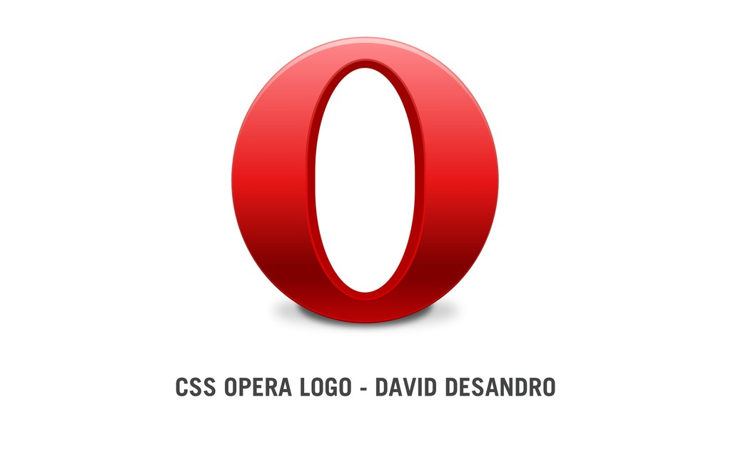 CSS OPERA LOGO - DAVID DESANDRO