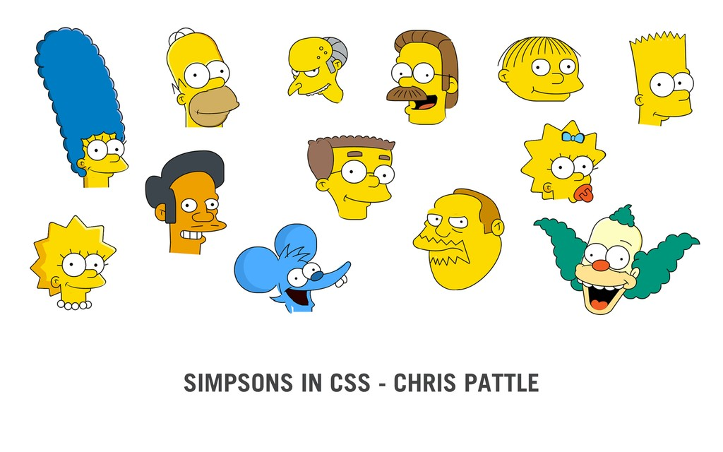 SIMPSONS IN CSS - CHRIS PATTLE