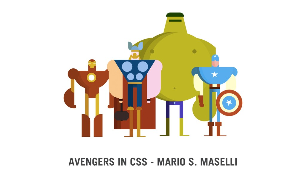 AVENGERS IN CSS - MARIO S. MASELLI