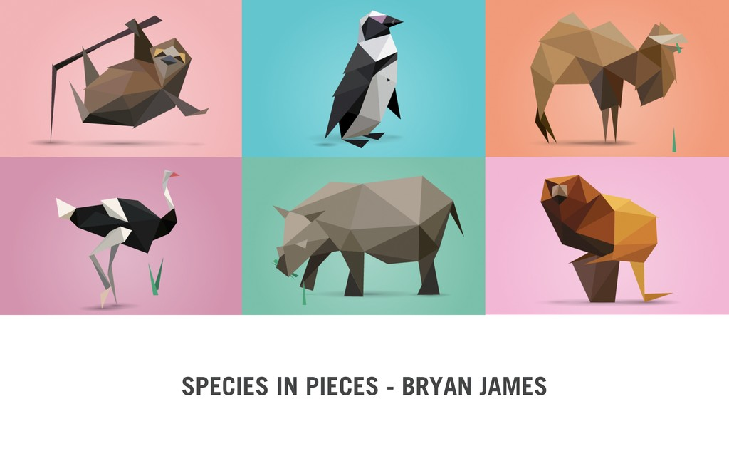 SPECIES IN PIECES - BRYAN JAMES