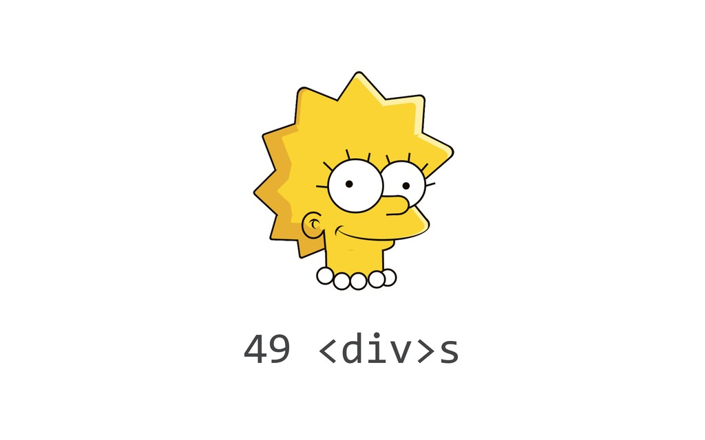 49 <div>s