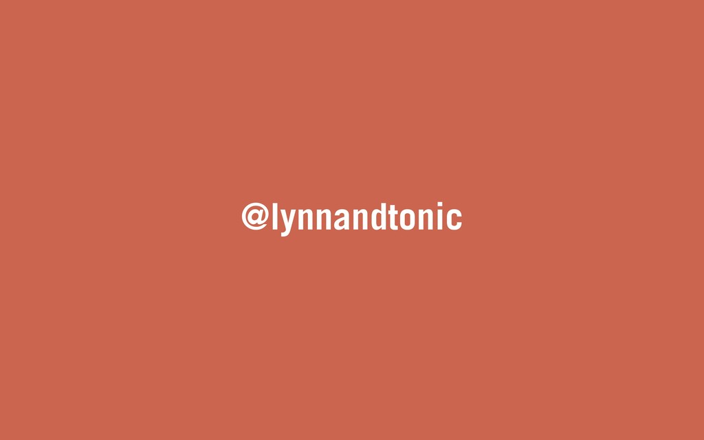 @lynnandtonic
