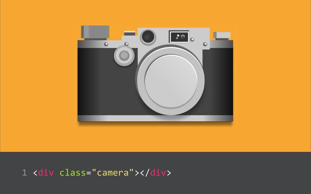 """<div class=""""camera""""></div>  1"""