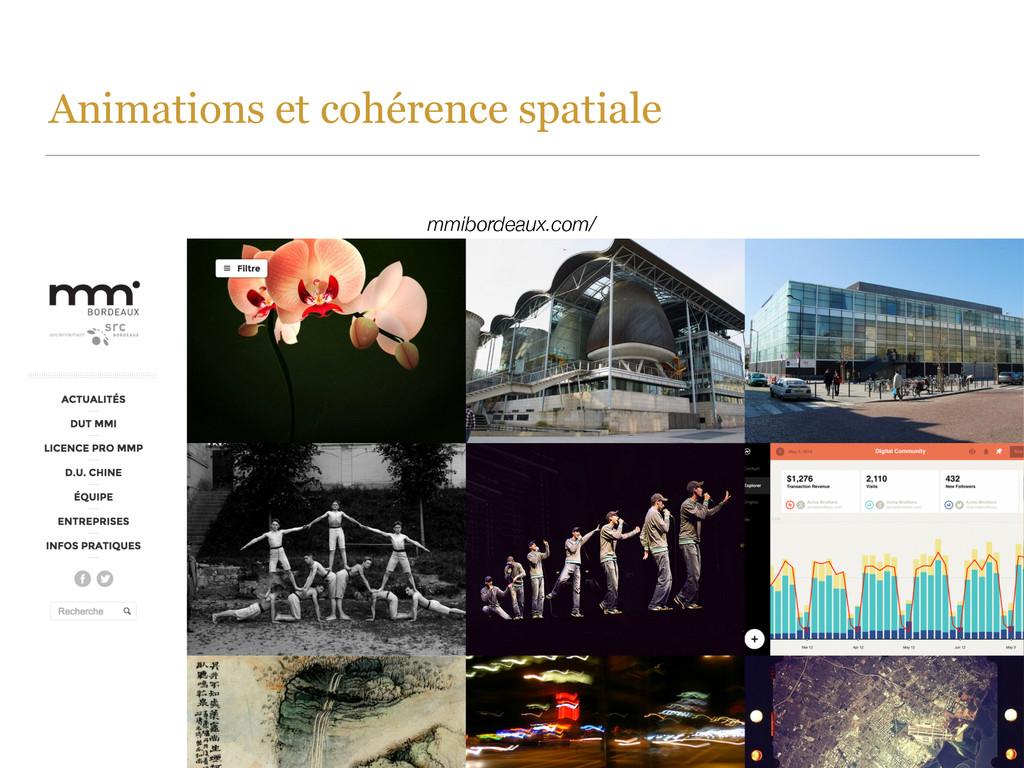 Animations et cohérence spatiale mmibordeaux.co...