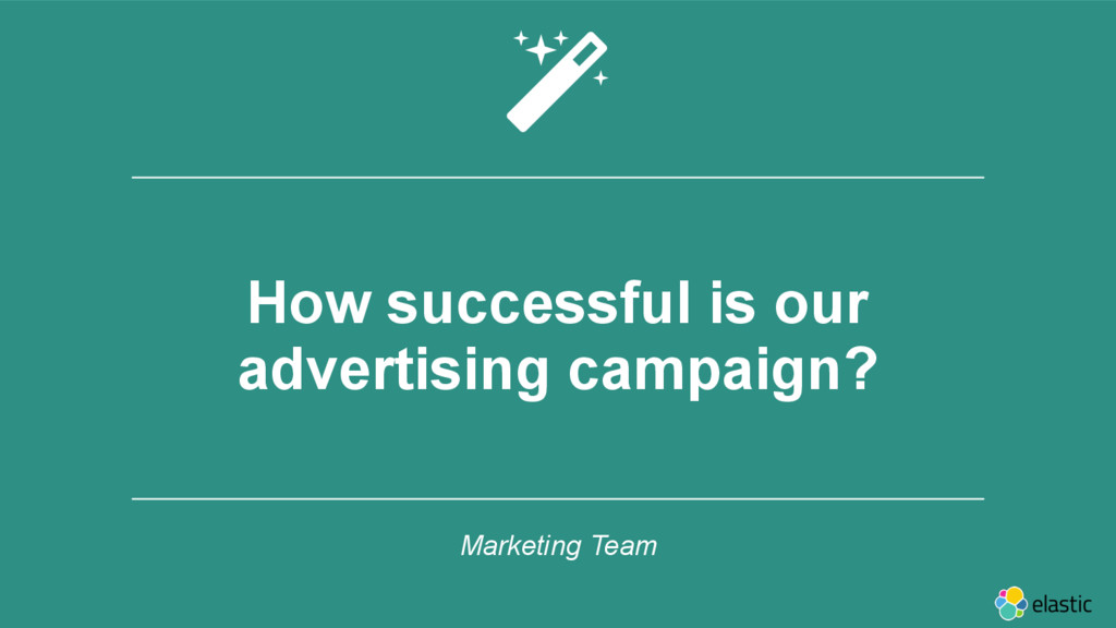 ‹#› How successful is our advertising campaign?...