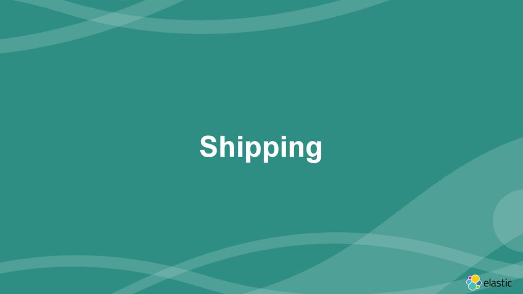 ‹#› Shipping
