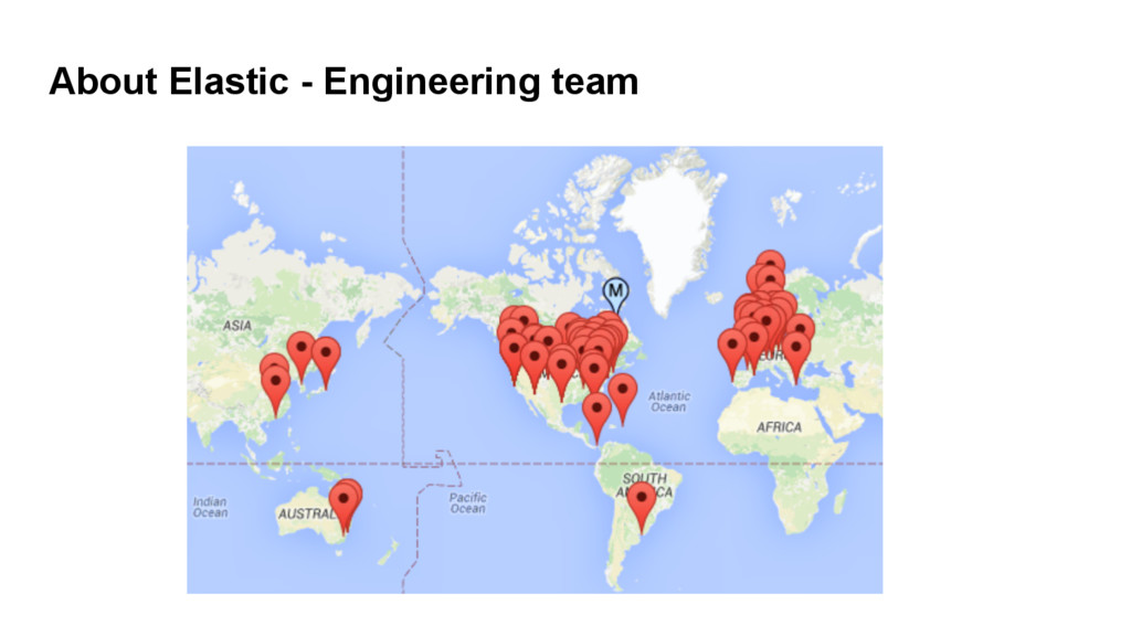 About Elastic - Engineering team