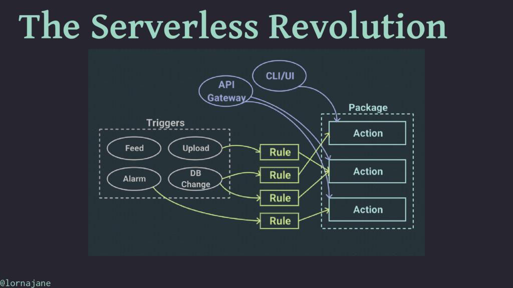 The Serverless Revolution @lornajane