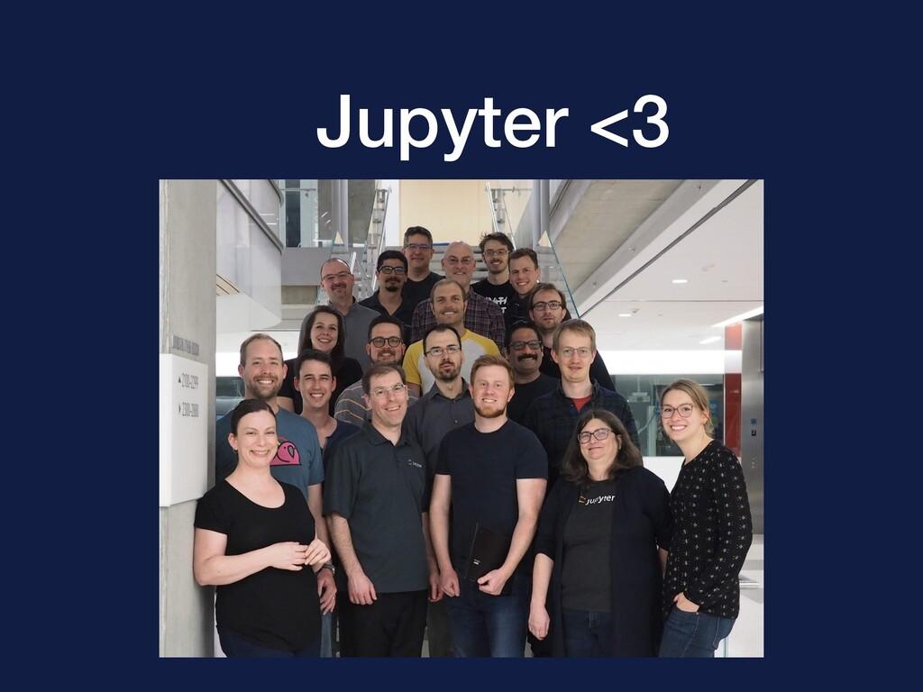 Jupyter <3