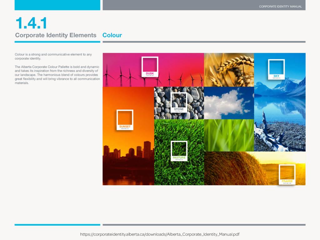 CORPORATE IDENTITY MANUAL E-mail visual@gov.ab....