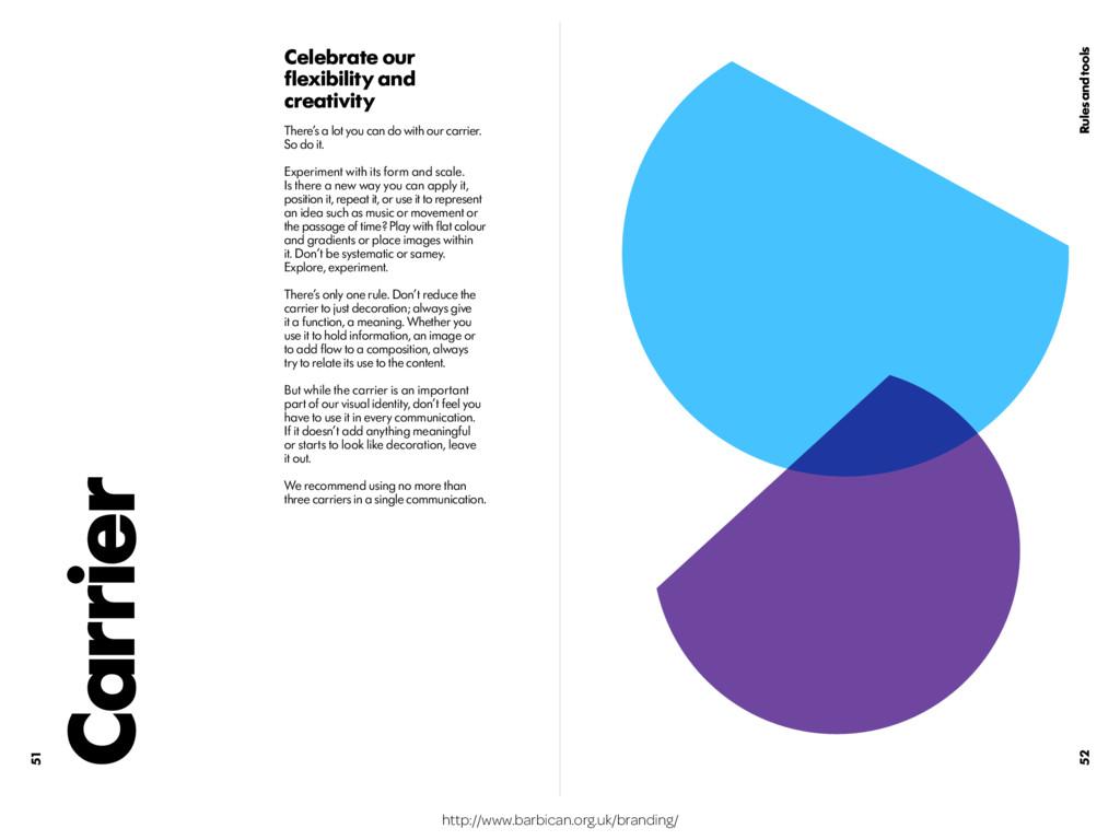 http://www.barbican.org.uk/branding/ 52 51 Rule...