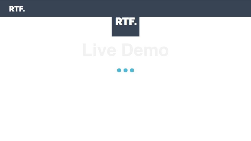 Live Demo 1. Start an exercise 2. Exploit vulne...