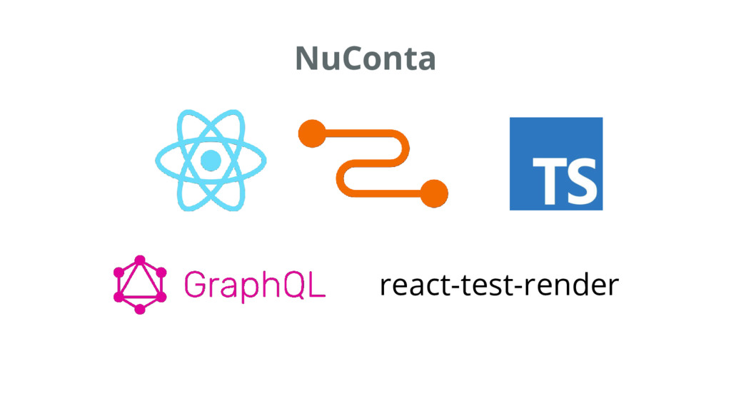 NuConta react-test-render