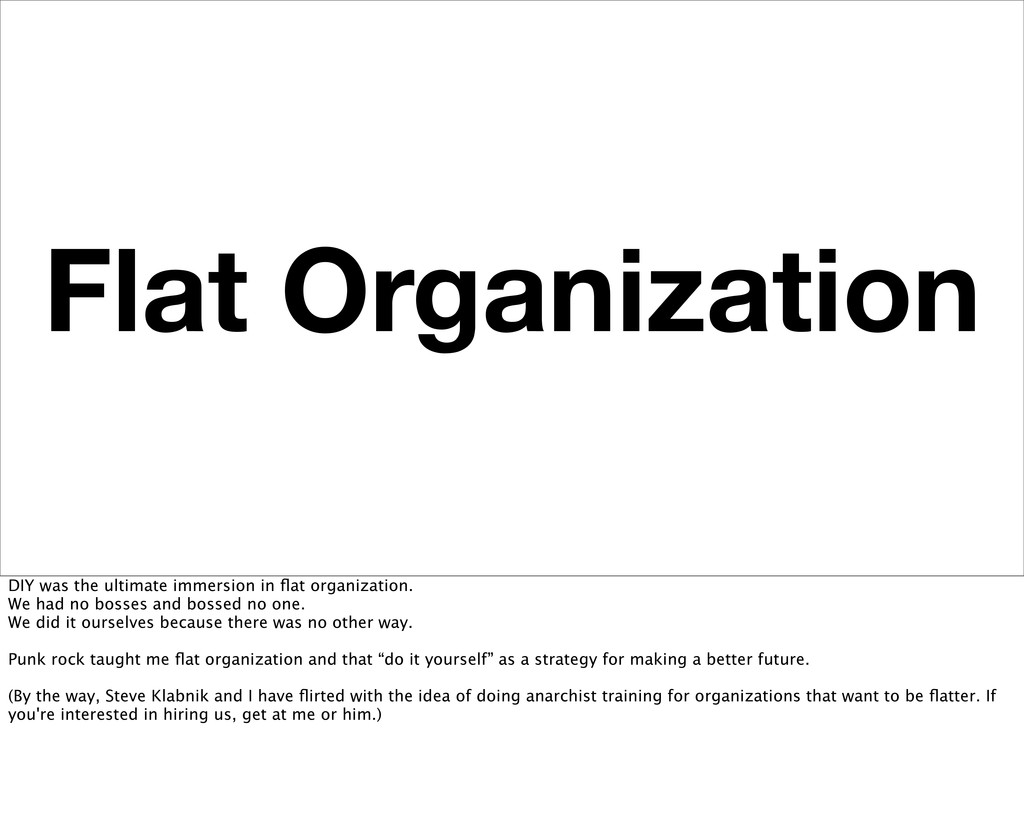 Flat Organization DIY was the ultimate immersio...