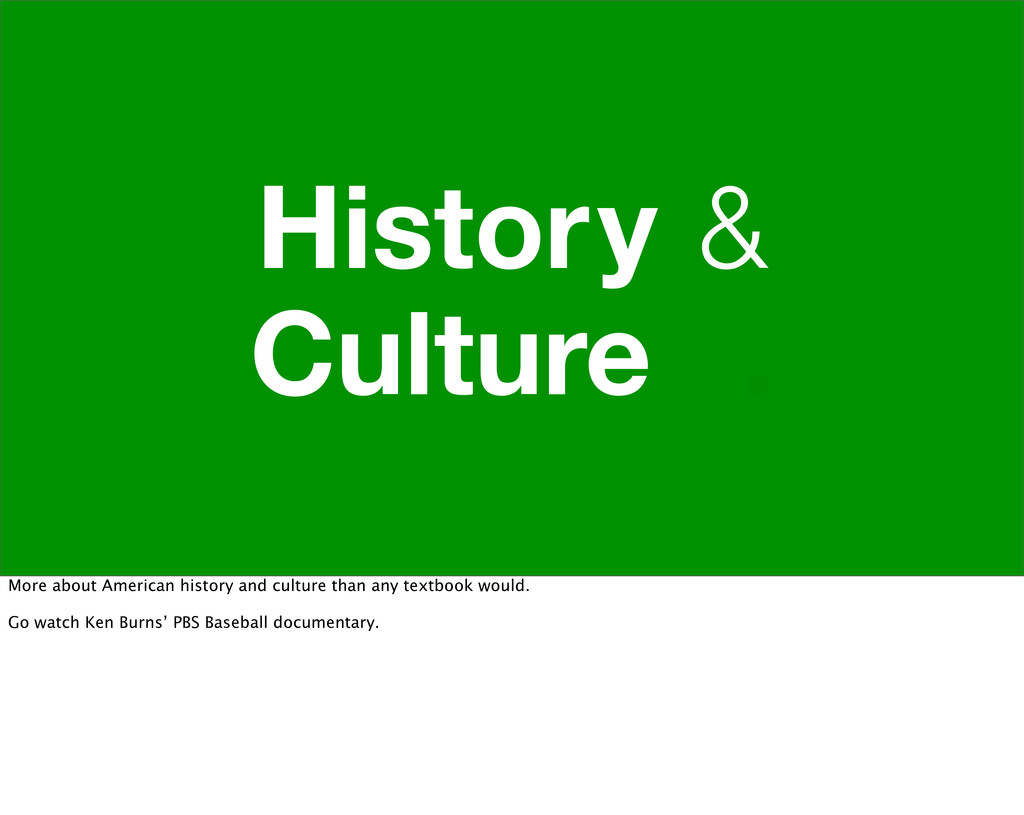 History & Culture . More about American history...
