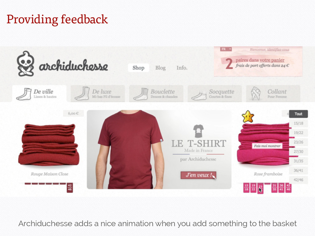 Archiduchesse adds a nice animation when you ad...