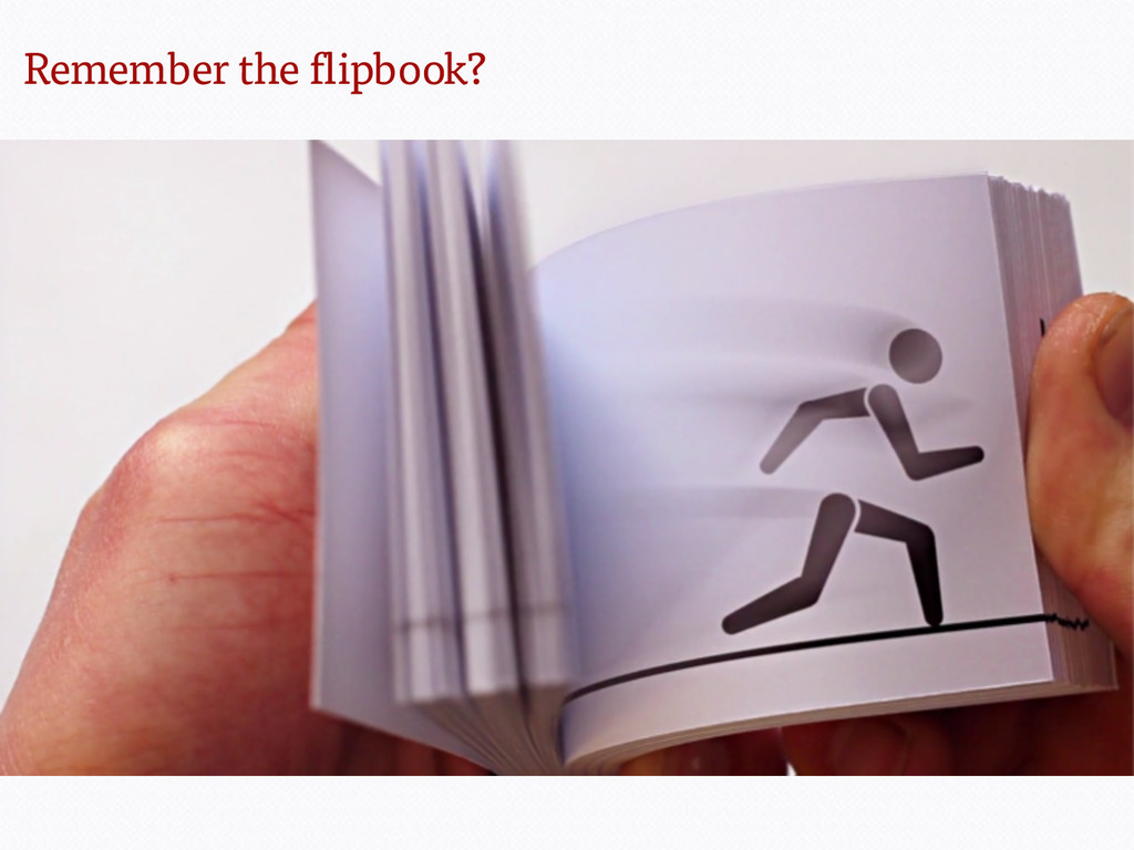 Remember the flipbook?