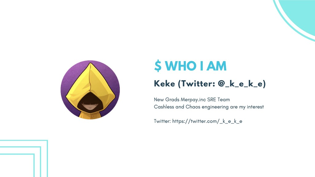 $ WHO I AM Keke (Twitter: @_k_e_k_e) New Grads ...