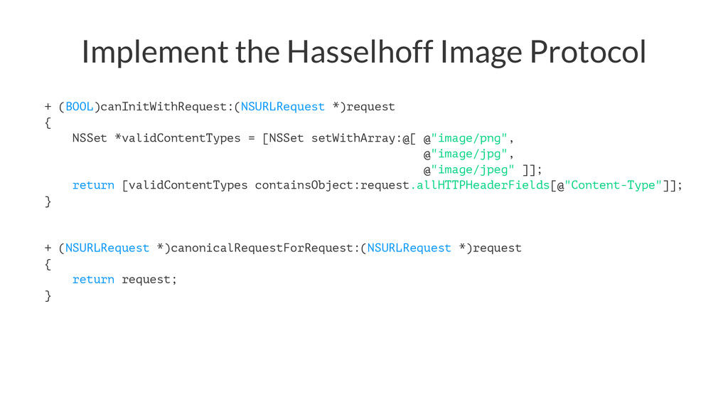 Implement the Hasselhoff Image Protocol + (BOOL...