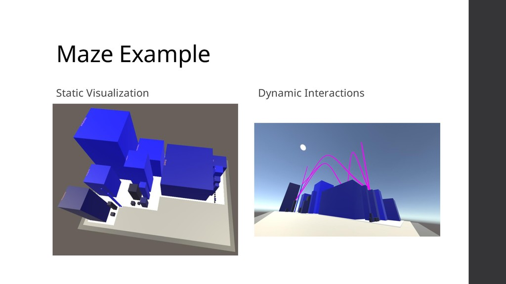 Maze Example Static Visualization Dynamic Inter...