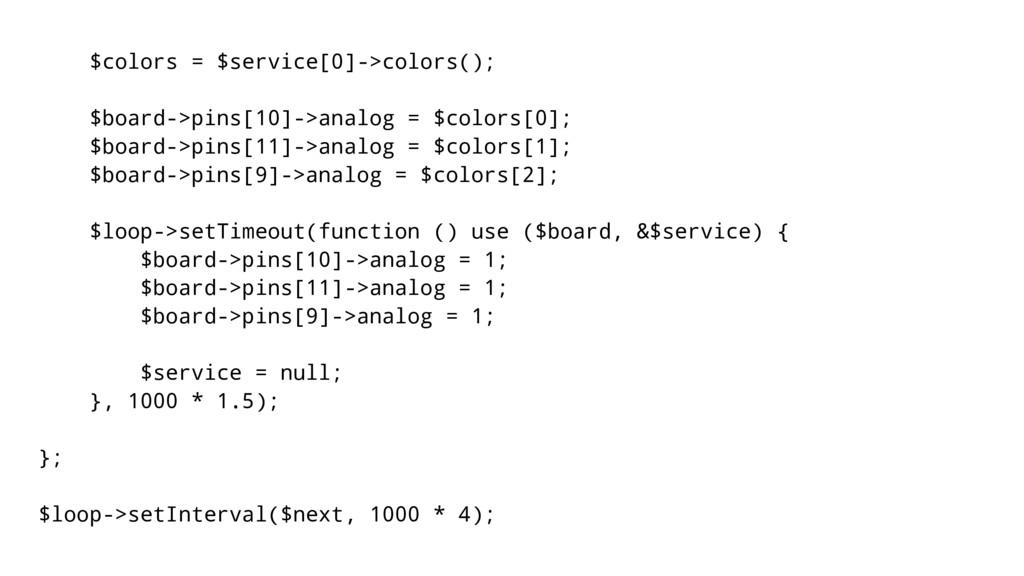 $colors = $service[0]->colors(); $board->pins[1...