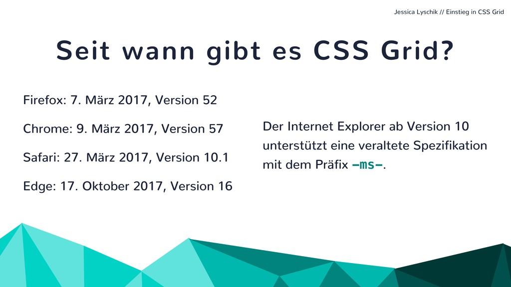 Jessica Lyschik // Einstieg in CSS Grid Seit wa...