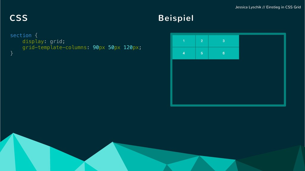 section { display: grid; grid-template-columns:...